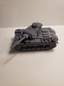 1/200 to 1/35 scale 50mm panzer III short ausf j  x2 Scale WWII Model Tank