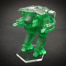 Load image into Gallery viewer, up to 110mm Mech Warrior Thingverse D & D Heroforge Desktophero     3d Miniature Print Service