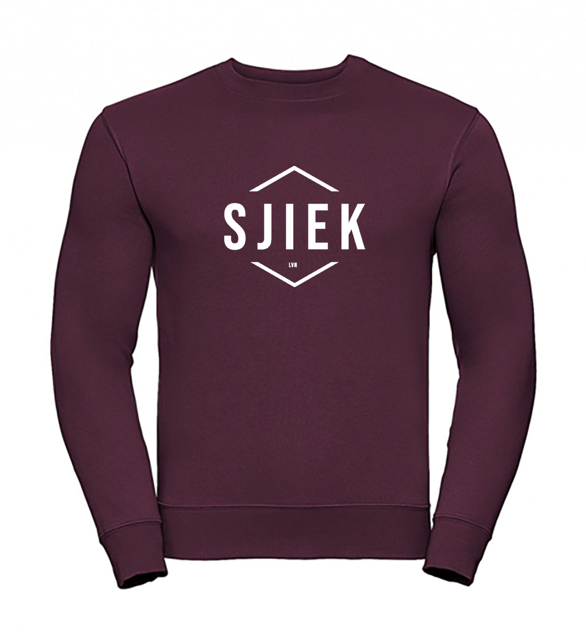SJIEK trui SJIEK sweater SJIEK burgundy