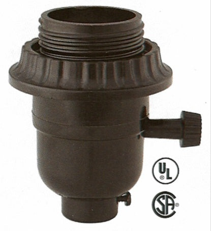 2- Circuit 3-Terminal Phenolic Threaded Socket