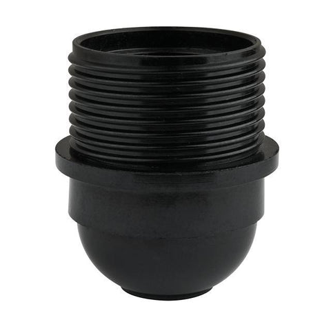 3-Piece Black Phenolic Threaded Medium