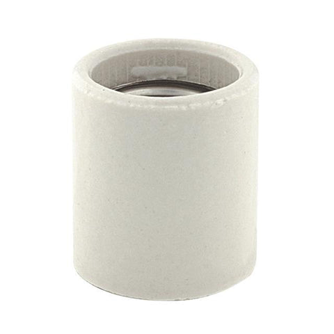 Medium Base Socket Glazed Porcelain
