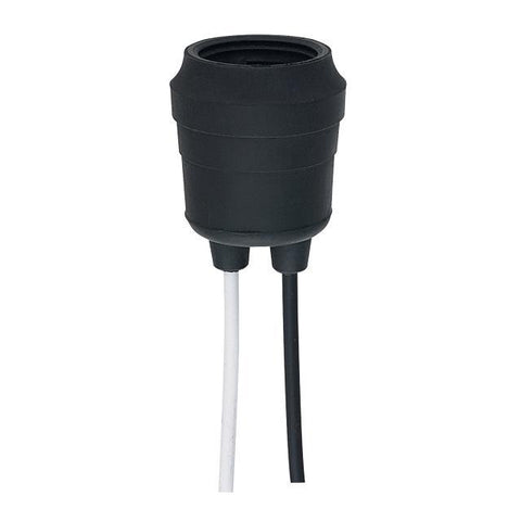 Weather Proof Rubber-Incased Medium Base Socket