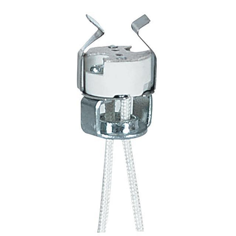 Porcelaine Bi-Pin Halogen Socket