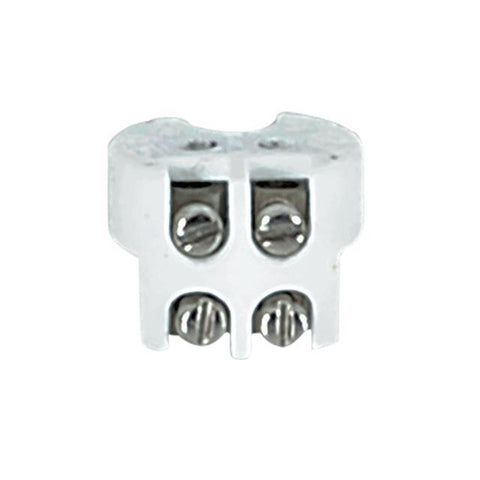 Porcelain Bi-Pin Halogen Socket