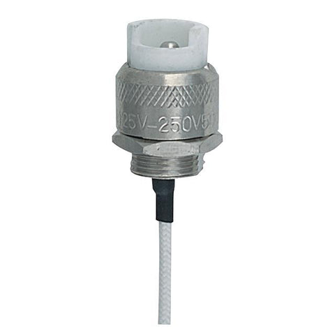 Quartz Flange Socket