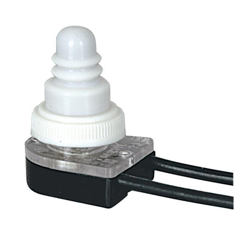 Single Circuit Push- Button Canopy Switch with Waterproof Cap