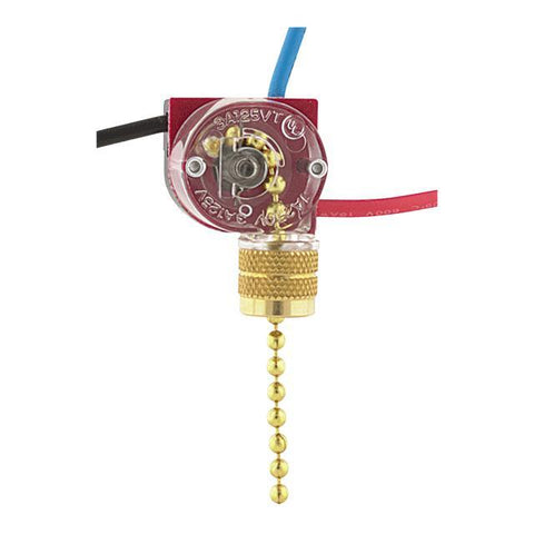 2- Circuit- 4- Position Pull-Chain Canopy Switch