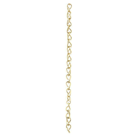 Solid Brass Double Jack Chain