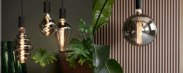 Add style to your bulbs with the Calex Range!