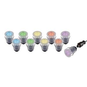 Saxby 59136 IkonPro 25mm Kit IP67 0.75W RGB - Prisma Lighting
