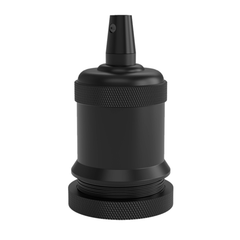 Calex Black Lamp Holder E27