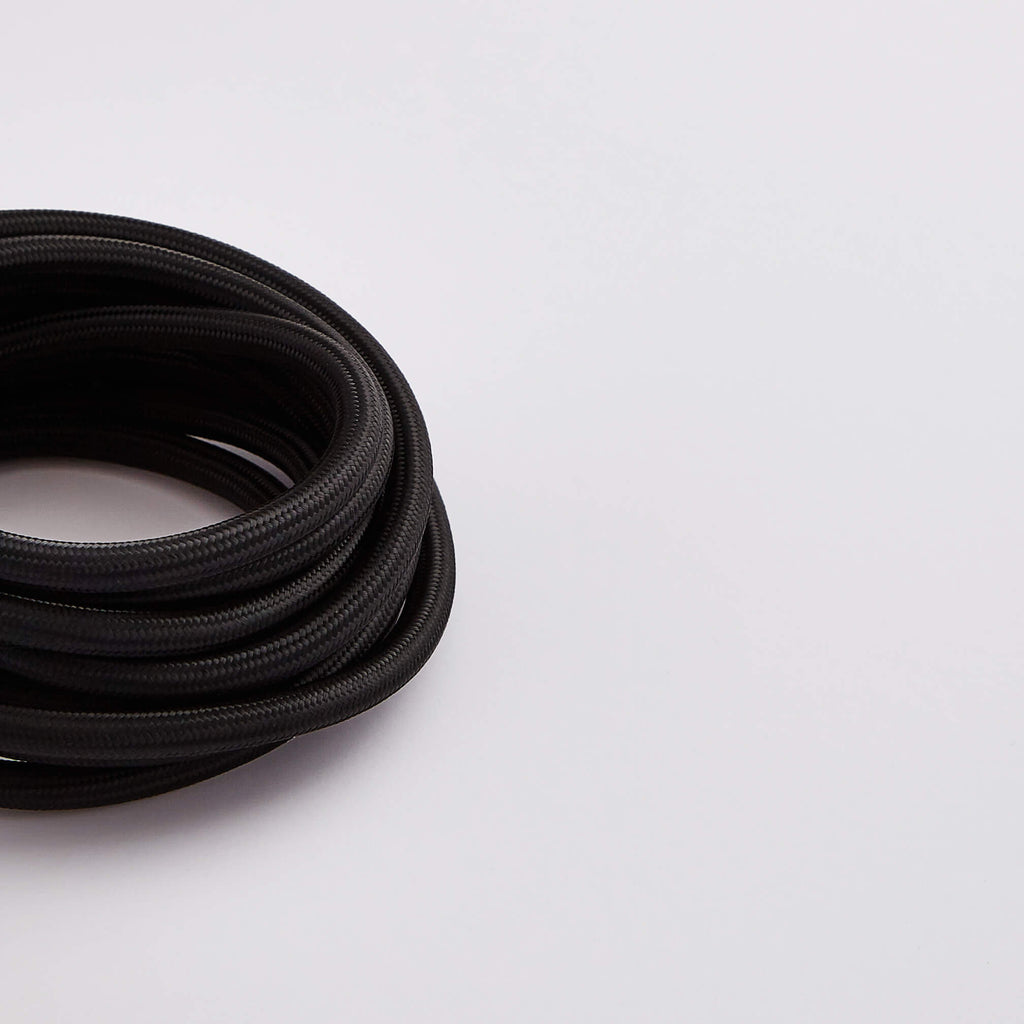 Prisma Black 3 Core 0.5mm Solid Braid Cable