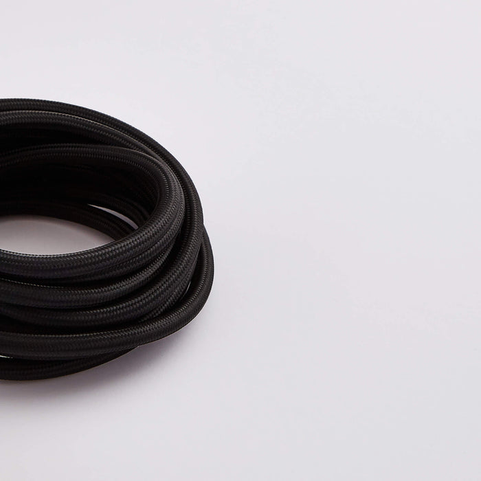 Prisma Black 3 Core 0.5mm Solid Braid Cable (Sold by the Metre)