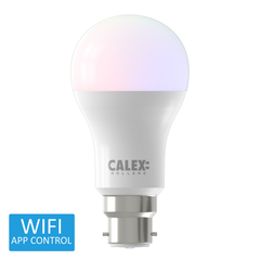 Calex Smart BC LED GLS Bulb RGB Warm to Cool