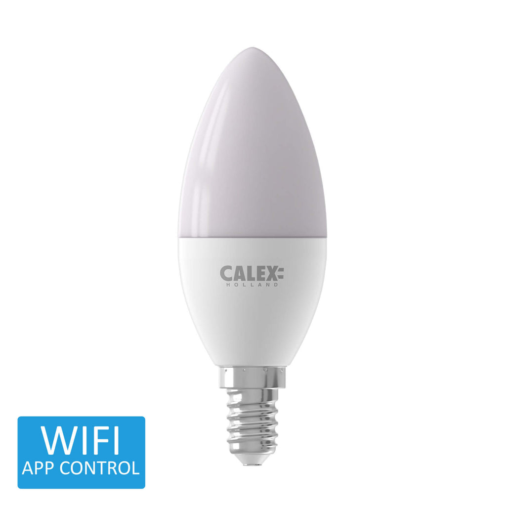 Calex Smart LED Candle Warm to Cool Small Edison Screw