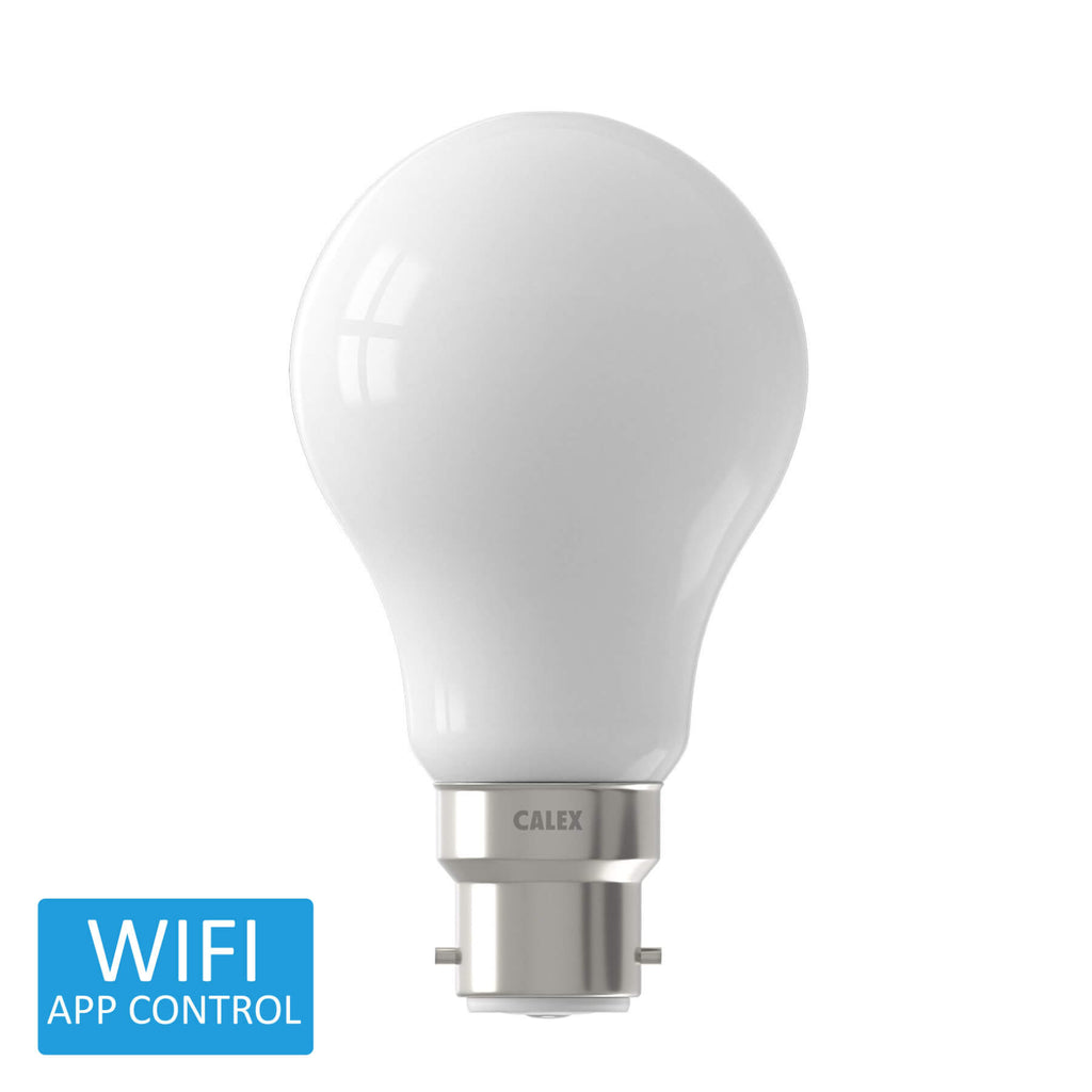 Calex Smart BC LED GLS Bulb Warm to Cool