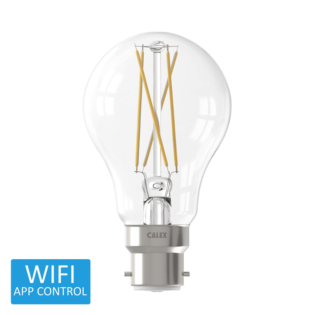 Calex Smart BC LED Filament Extra Warm to Warm - Prisma Lighting