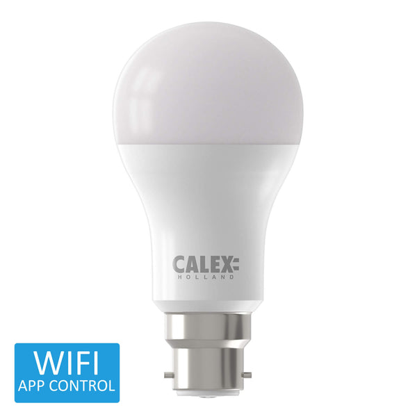 Calex Smart BC LED GLS Bulb RGB Warm to Cool - Prisma Lighting