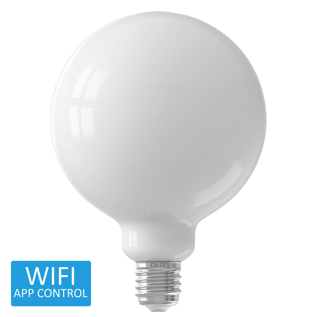 Calex Smart BC LED Globe Extra Bright Warm to Cool