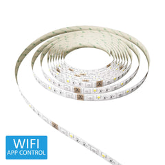 Calex Smart RGB Colour Changing + White LED Strip Kit 5M