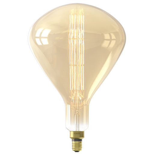 Calex Sydney Gold LED lamp 8W 800lm 2200K Dimmable - Prisma Lighting