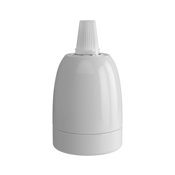 Calex White 940392 Ceramic Lamp Holder E27
