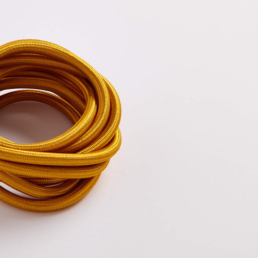Prisma Celtic Gold 3 Core 0.5mm Solid Braid Cable (Sold by the Metre)