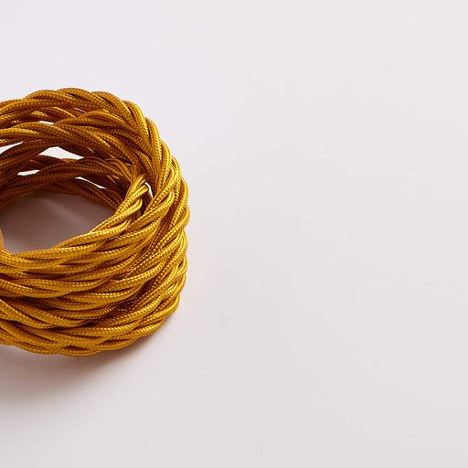 Prisma Celtic Gold 3 Core 0.5mm Twisted Cable (Sold by the Metre)