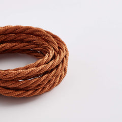 Prisma Classic Copper 3 Core 0.5mm Twisted Cable (Sold by the Metre)