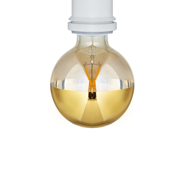 Gold Crown Bulb LED 8W E27 G95 Dimmable - Prisma Lighting