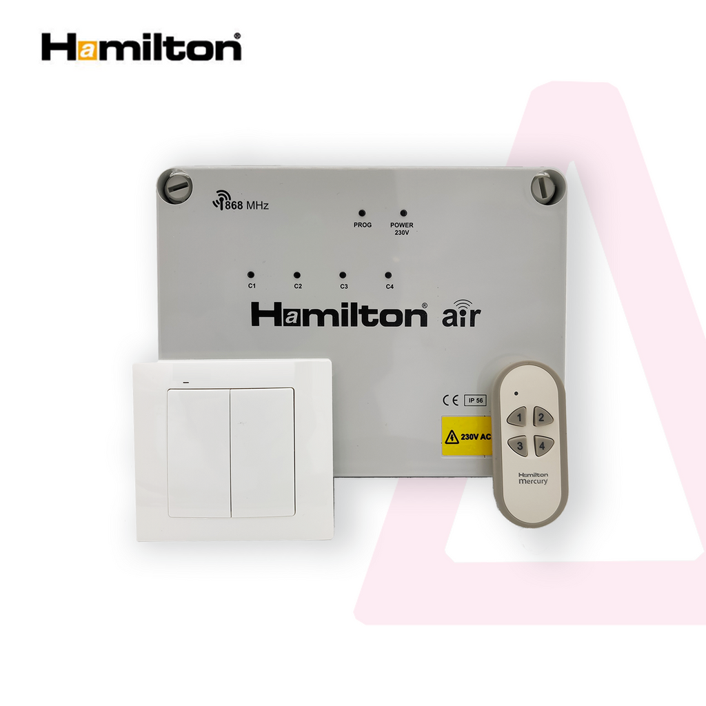 Hamilton Air 4 Channel Wireless Switching System - Prisma Lighting