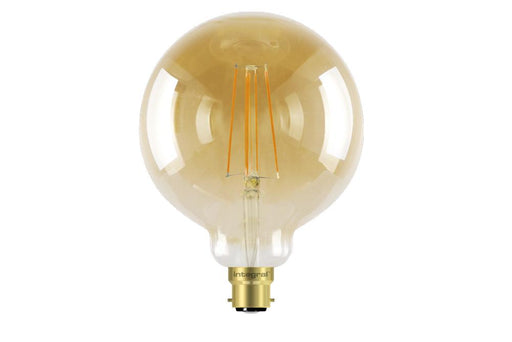 Integral LED Sunset Vintage Globe 125mm 5W (40W) 1800K 380lm B22 Dimmable Lamp - Prisma Lighting