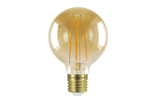 Integral LED Sunset Vintage Globe 80mm 5W (40W) 1800K 380lm E27 Dimmable Lamp - Prisma Lighting