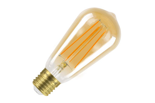 Integral LED Sunset Vintage ST64 Squirrel Cage 5W (40W) 1800K 380lm E27 Dimmable Lamp - Prisma Lighting