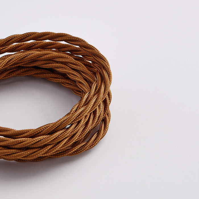 Prisma Nutmeg 3 Core 0.5mm Twisted Cable (Sold by the Metre)