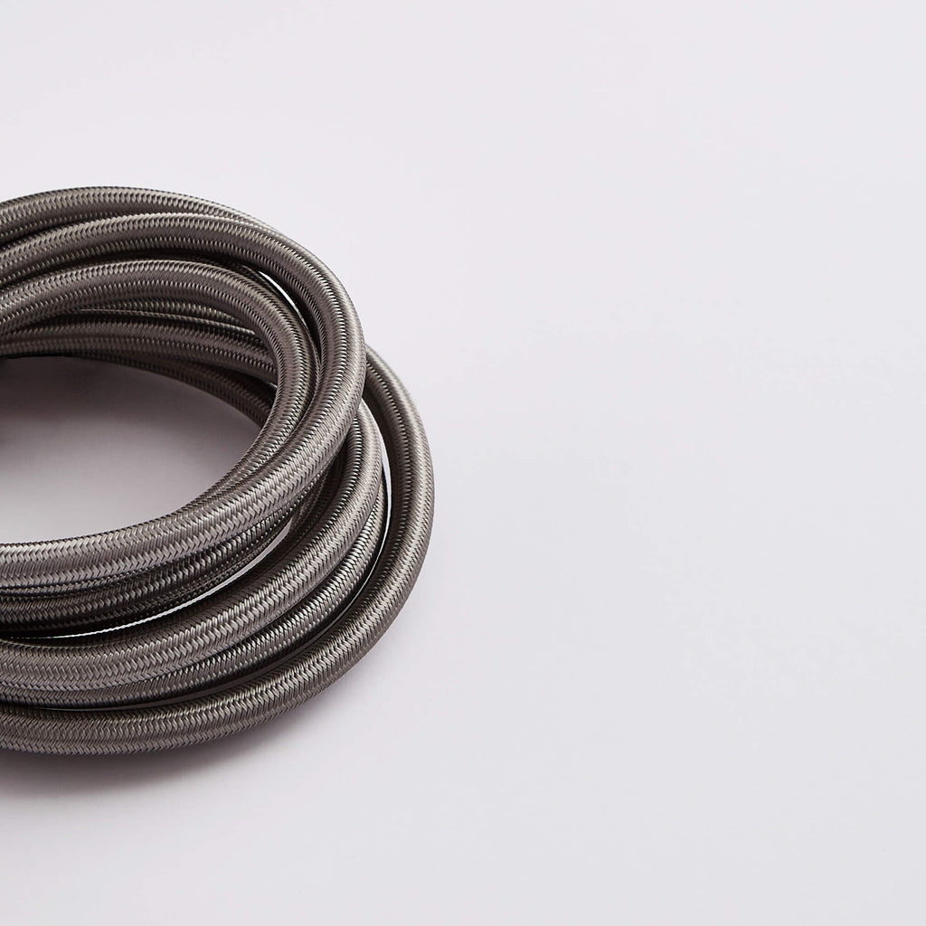 Prisma Elephant Grey 3 Core 0.5mm Solid Braid Cable (Sold by the Metre)