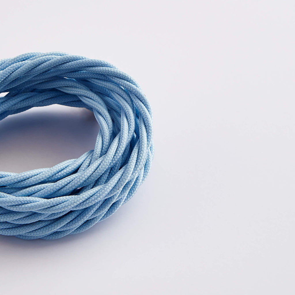 Prisma Baby Blue 3 Core 0.5mm Twisted Cable (Sold by the Metre)