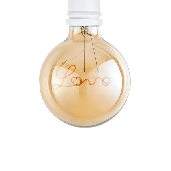 Love Pendant LED Bulb ES G95 Dimmable - Prisma Lighting