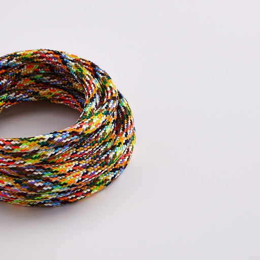 Prisma Multicolour 3 Core 0.5mm Solid Braid Cable (Sold by the Metre)
