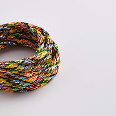 Prisma Multicolour 3 Core 0.5mm Solid Braid Cable