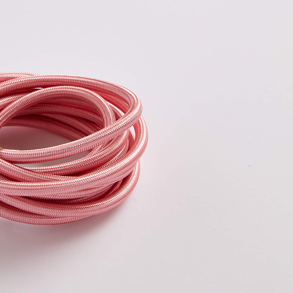 Prisma Baby Pink 3 Core 0.5mm Round Cable