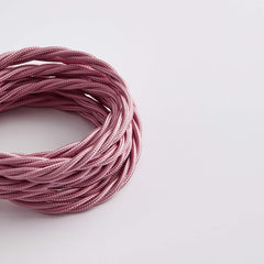 Prisma Baby Pink 3 Core 0.5mm Twisted Cable (Sold by the Metre)
