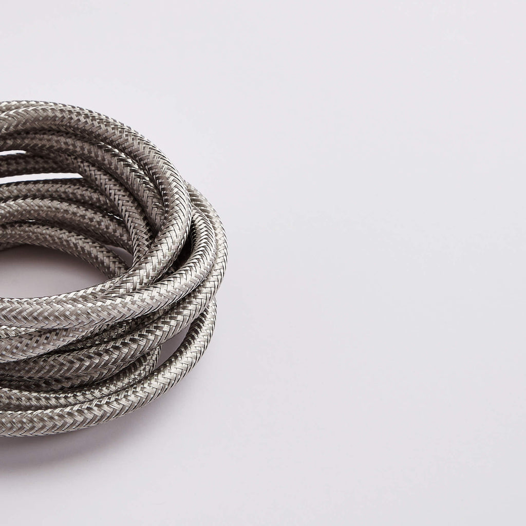 Prisma Stainless Steel 3 Core 0.5mm Solid Braid Cable - Prisma Lighting