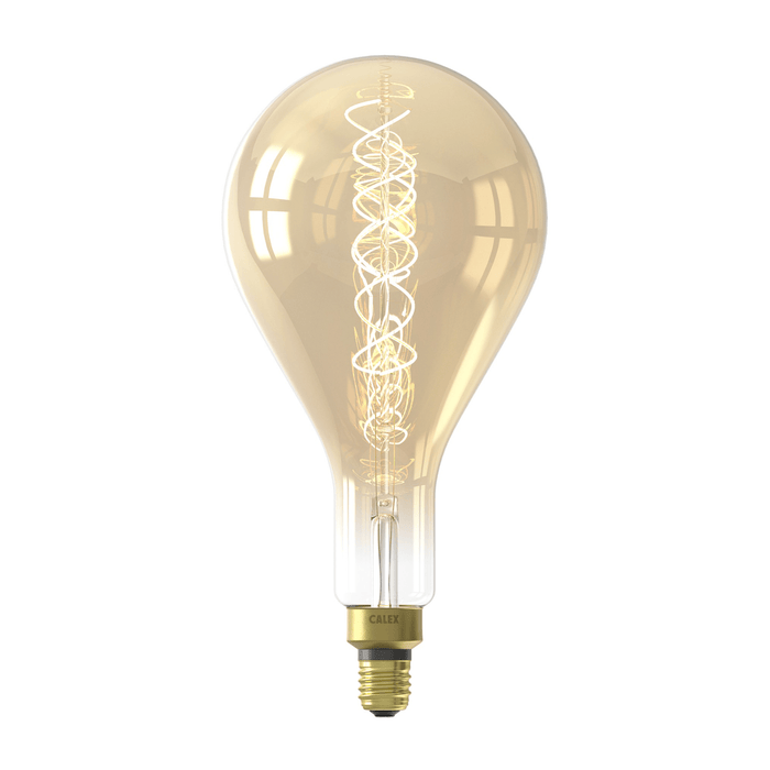 Calex Splash Gold LED lamp 4W 200lm 2100K Dimmable - Prisma Lighting