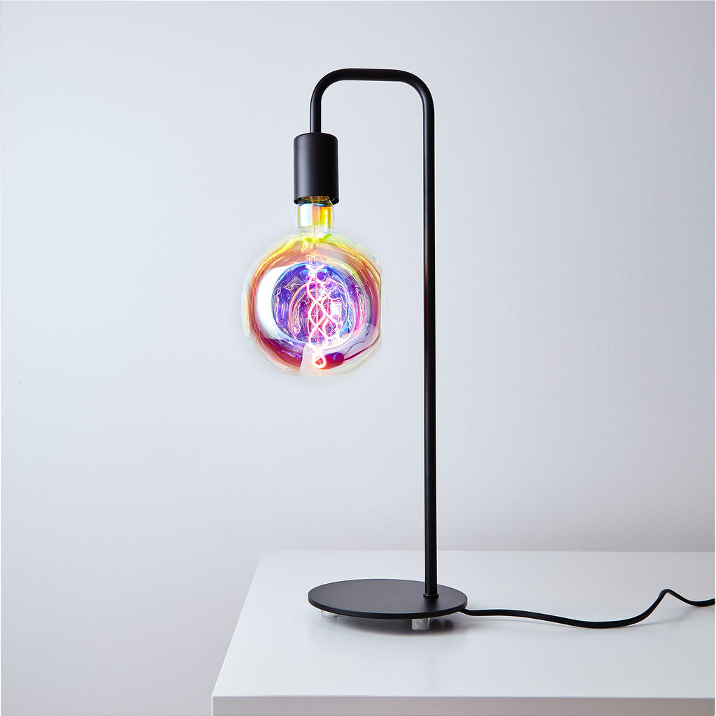 U line Table Lamp with Candy Bulb - Prisma Lighting