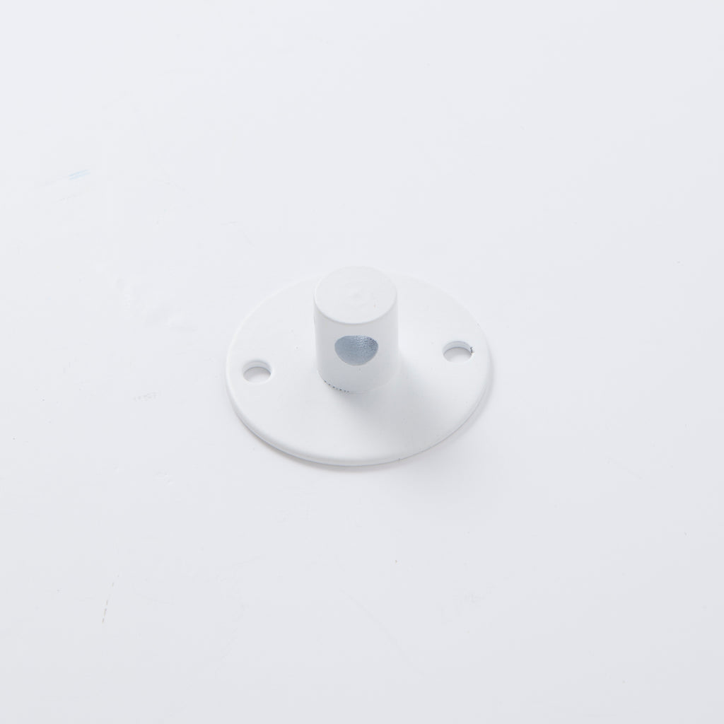 Girard Sudron Cable Hook Plate White with Locking Screw - Prisma Lighting