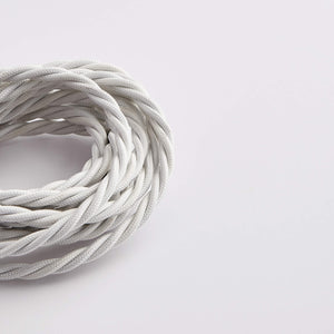 Prisma Bright White 3 Core 0.5mm Twisted Cable