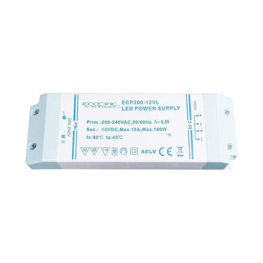 Ecopac LED Driver200W 24V (Low Profile)