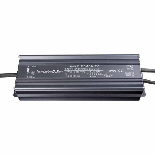 Ecopac LED Driver 100W 24V  (0-10V, Dimmable)